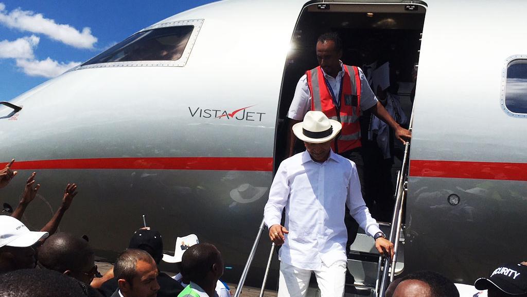RDC: l'opposant Moïse Katumbi est de retour à Lubumbashi