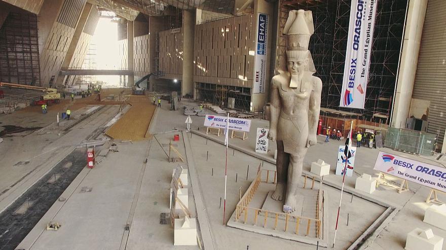 Explosion au Grand Musée égyptien, 12 blessés