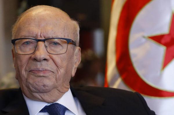 Le président tunisien Beji Caid Essebsi hospitalisé dans un «état critique»