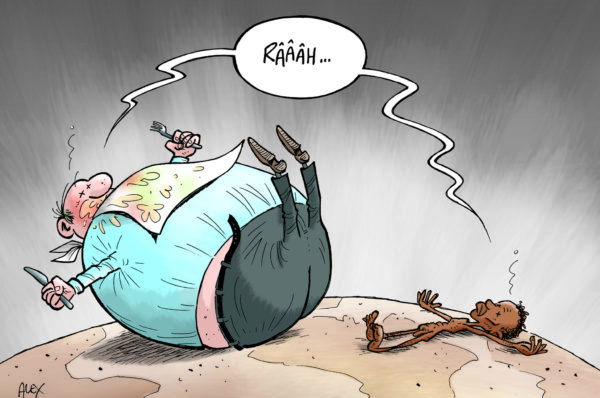 Malbouffe et famine, les deux faces de l'Afrique