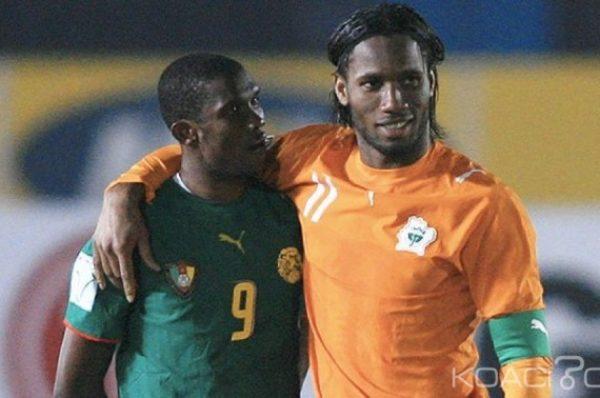 Eto'o et Drogba deviennent collaborateurs officiels du président de la CAF