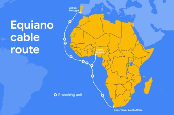 Fibre optique : Google veut connecter l'Afrique à l'Europe via son câble sous-marin « Equiano »