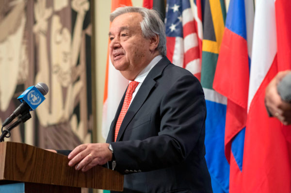 RDC : António Guterres attendu dans le Kivu pour encourager la lutte contre Ebola