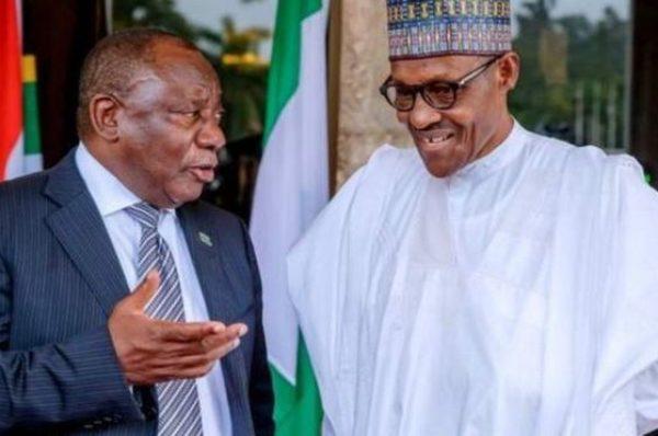 Nigeria-Afrique du Sud  : Buhari attendu chez Ramaphosa en octobre prochain