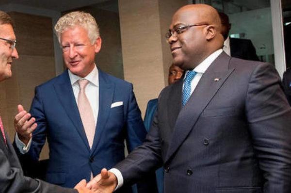 RDC-Belgique : Félix Tshisekedi poursuit sa visite à Anvers, deuxième port d'Europe et capitale du diamant