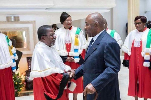 Gabon : Ali Bongo Ondimba préside la cérémonie de rentrée de la Cour constitutionnelle
