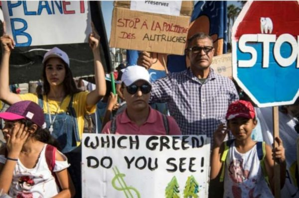 Maroc : manifestations à Casablanca et Rabat pour le climat