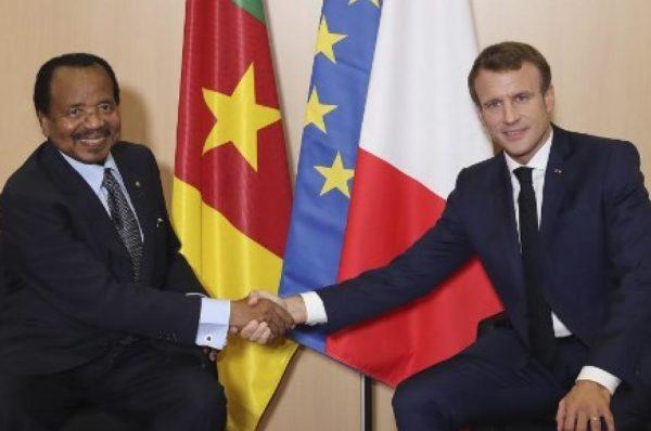 Cameroun : Emmanuel Macron appelle Paul Biya à mettre en œuvre la réconciliation