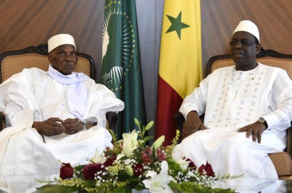 Sénégal : Abdoulaye Wade reçu par Macky Sall au Palais présidentiel