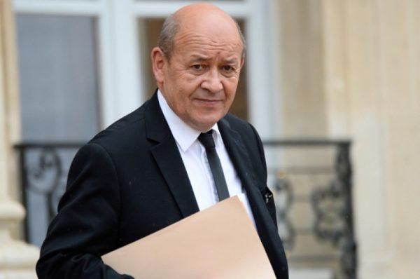 Jean-Yves Le Drian en visite au Cameroun pour encourager l'ouverture politique