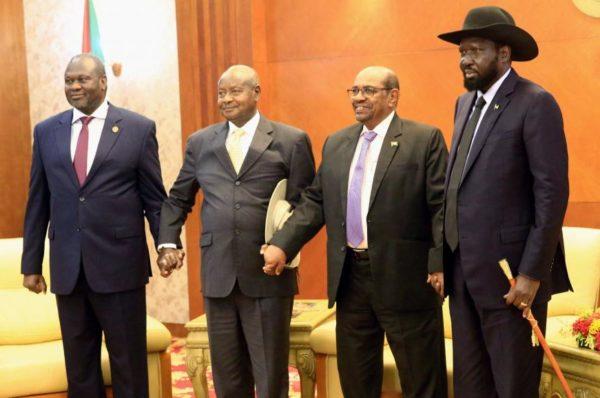 Soudan du Sud: l'Ouganda tente une médiation entre Salva Kiir et Riek Machar