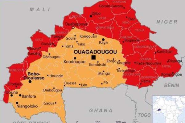 Le Burkina Faso entièrement déconseillé aux voyageurs, selon le Quai d'Orsay