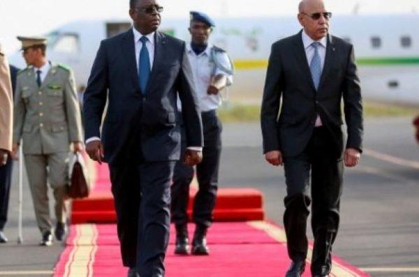 Sahel : Macky Sall et Mohamed Ould Ghazouani veulent un « mandat renforcé » face aux jihadistes
