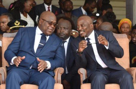 Joseph Kabila et Félix Tshisekedi
