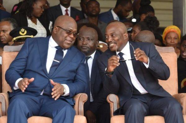 RDC : nouvelles dissensions au sein de l'alliance Tshisekedi-Kabila