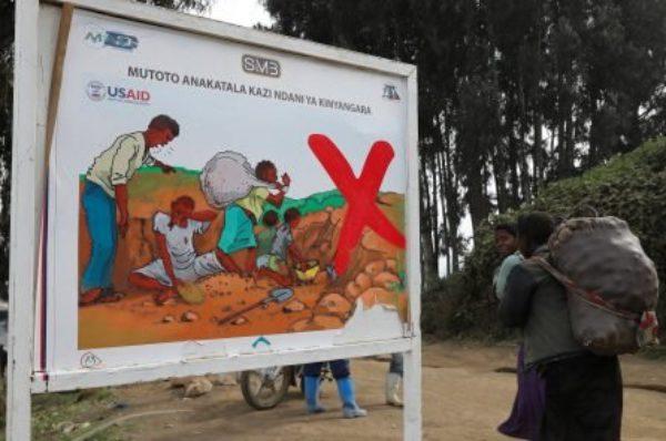 Une plainte déposée contre des géants de la tech pour le travail des enfants dans les mines de RDC