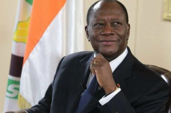 Côte d'Ivoire : à Yamoussoukro, Alassane Ouattara entretient le doute sur sa candidature en 2020