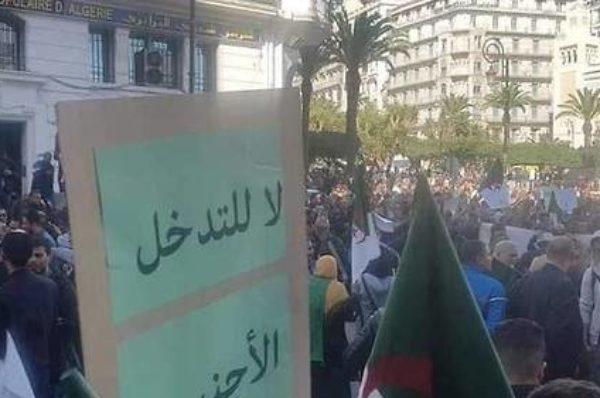 Algérie : les manifestants pro-élection se mobilisent aussi