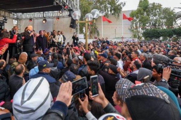 Tunisie : la première sortie mouvementée du nouveau président Kaïs Saïed