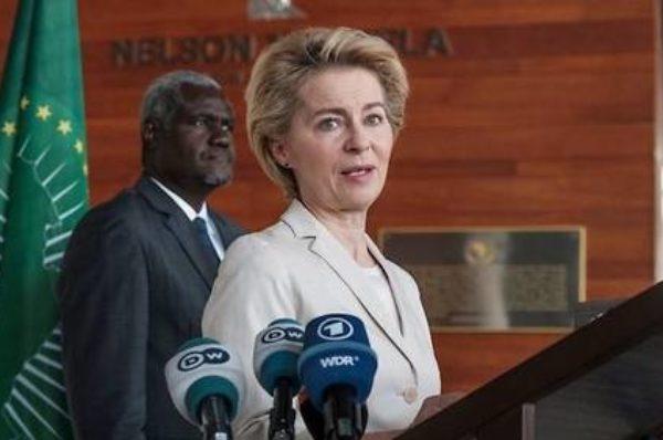 Cap sur l'Afrique pour Ursula von der Leyen