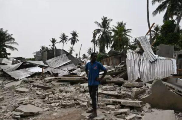 « On dirait qu'une tornade est passée par là » : déguerpissement surprise près de l'aéroport d'Abidjan
