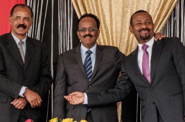 Les dirigeants éthiopien et somalien en Érythrée pour parler d'économie