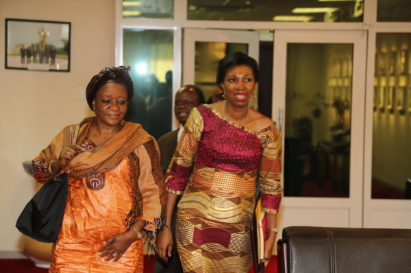 RDC: les piques de Jeanine Mabunda à l'encontre de Félix Tshisekedi
