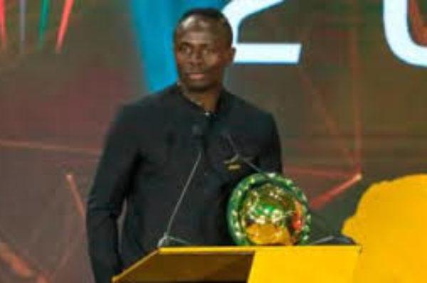 Sadio Mané, buteur de Liverpool et du Sénégal, sacré meilleur joueur africain de 2019