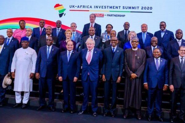 Londres  : des projets en milliards annoncés au premier sommet Royaume-Uni-Afrique sur l'investissement