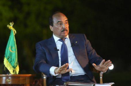 L'ancien président mauritanien Mohamed Ould Abdel Aziz
