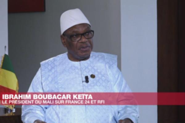 Mali: le président Ibrahim Boubacar Keïta propose un gouvernement d'union nationale
