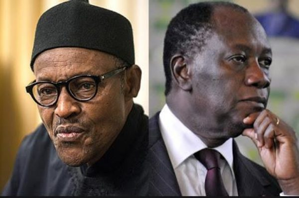 ECO : Buhari instrumentalise les rivalités de leadership contre Ouattara