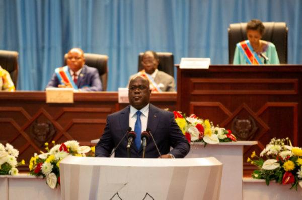 RDC: nouvelle tension entre le Parlement et le président Tshisekedi