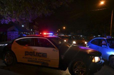 un véhicule de police à yopougon