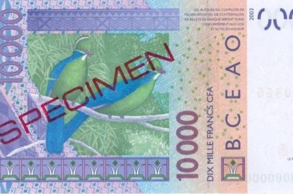 Infox  : aucune modification n'a été apportée sur les billets de 10 000 Fcfa et 5 000 Fcfa