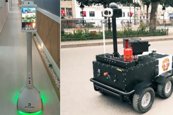 En Tunisie, intelligence artificielle et robots face à la pandémie