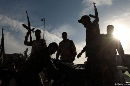 Des membres d'une milice libyenne dans l'est de la Libye