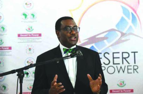 Le président de la Banque africaine de développement, Akinwunmi Adesina