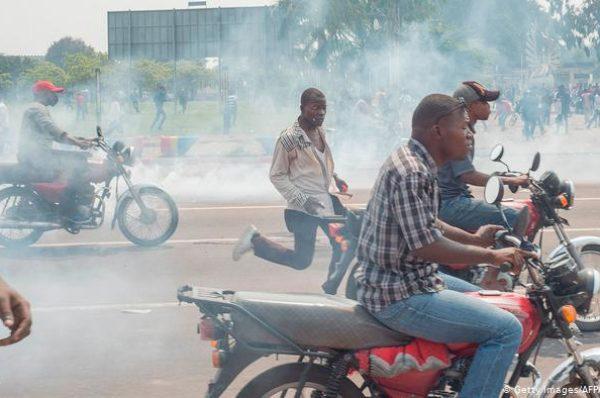 Un mort lors de manifestations à Kinshasa