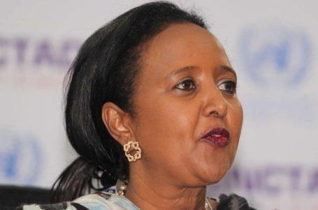 La candidate kényane au poste de directrice générale de l'Organisation mondiale du commerce (OMC), Amina Mohamed