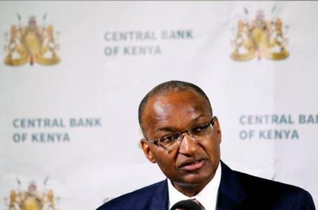 Le gouverneur de la Banque centrale du Kenya, Patrick Njoroge, à Nairobi, Kenya, le 28 novembre 2018. REUTERS / Njeri Mwangi / File Photo
