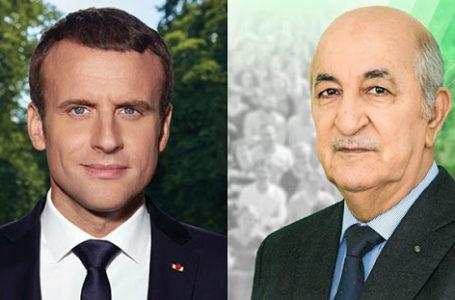 Emmanuel Macron et Abdelmadjid Tebboune