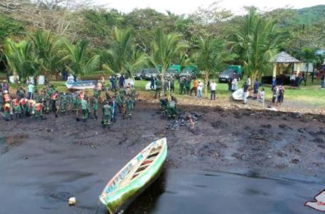 Les Mauriciens anxieux utilisent les cheveux pour endiguer la marée noire d'un navire japonais