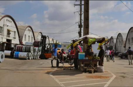 Zone industrielle de Tanjombato, à Antananarivo, ce 5 novembre 2018, où la plupart des entreprises et zones franches de la capitale sont concentrée