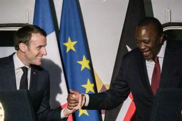 L'économie au cœur de la visite en France du président kényan Uhuru Kenyatta