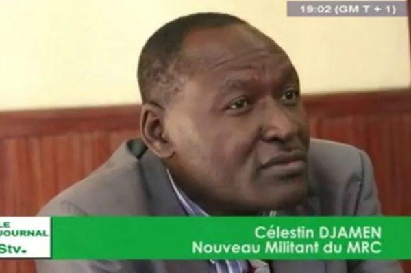 Cameroun – Célestin Djamen : « Si le bateau coule, je ne serai pas suicidaire »
