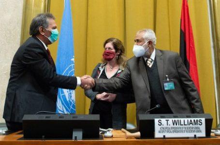 Les parties en conflit en Libye ont signé vendredi 23 octobre un cessez-le-feu national et permanent avec « effet immédiat », après cinq jours de discussions à Genève. © Violaine Martin/AFP
