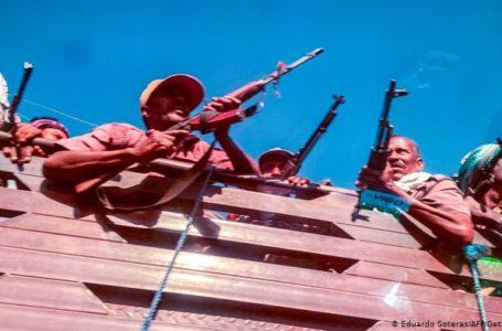 Une milice amhara. L'Agence France presse, se basant surdessourcesmédicalesetdetravailleurshumanitaires,avait recensé plusde200soldatsblessésethuittués lundi 9 novembre
