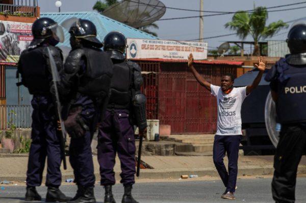 Angola : violente répression de manifestants antigouvernementaux