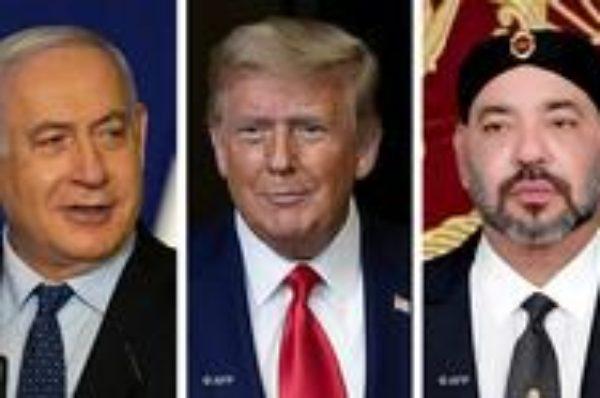 Donald Trump annonce la normalisation des relations entre le Maroc et Israël